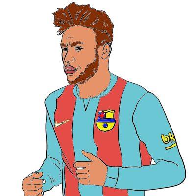 Le footballeur Neymar.